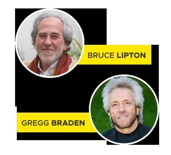 In Diretta Streaming Per Seguire Dal Centro Di Armonia L' Evento Con Gregg Braden e Bruce Lipton