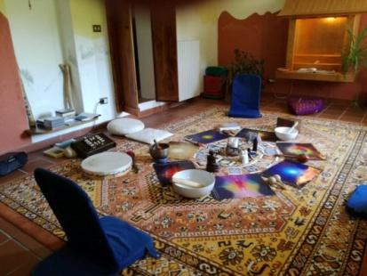 Laboratorio di Canto Armonico al Centro di Armonia con  Raffaele Pezzo